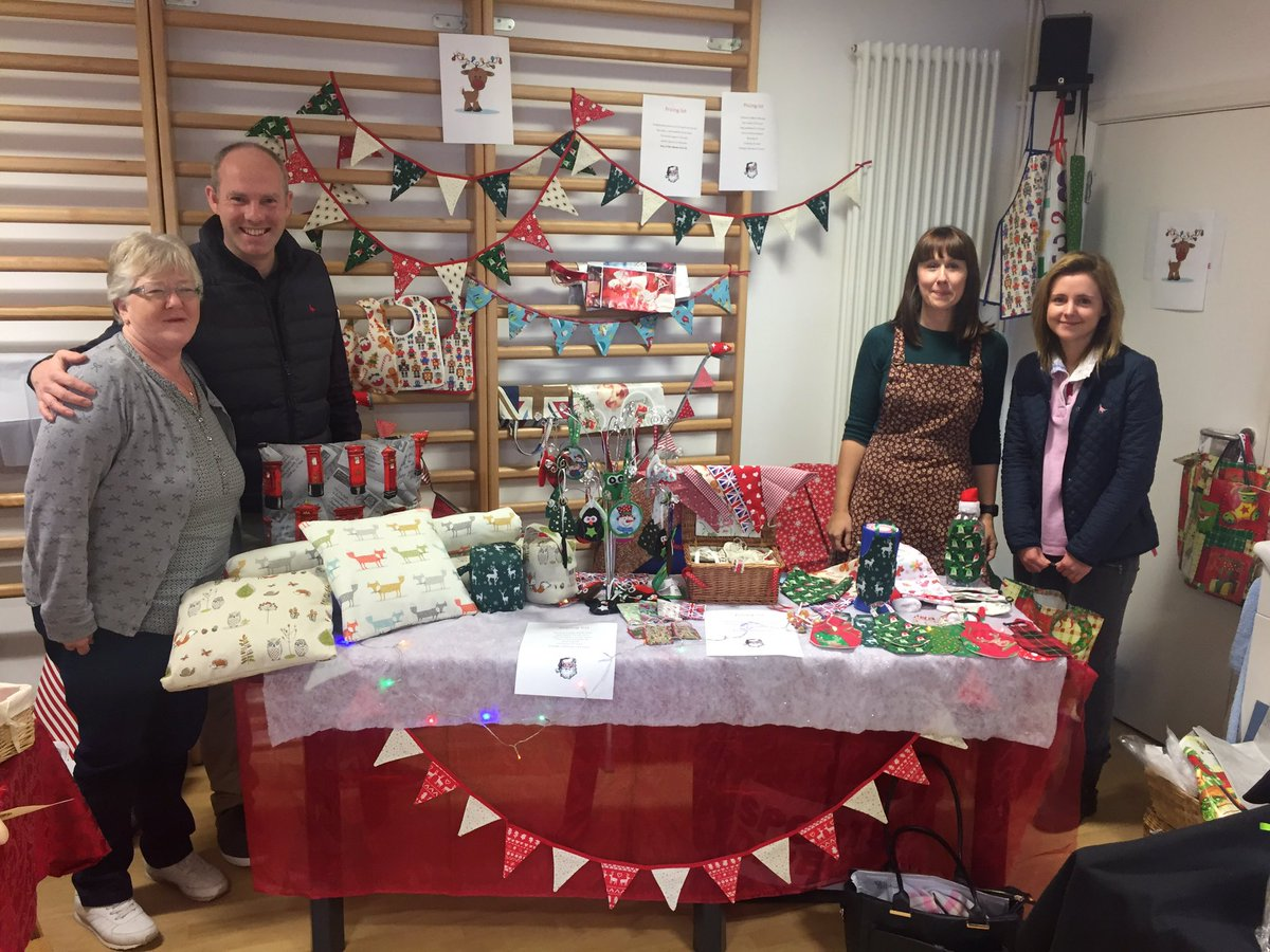 North Swindon MP Supports Christmas Fair At MS Therapy Centre