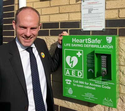 Justin Backs Bill To Increase Access To Life Saving Defibrillators