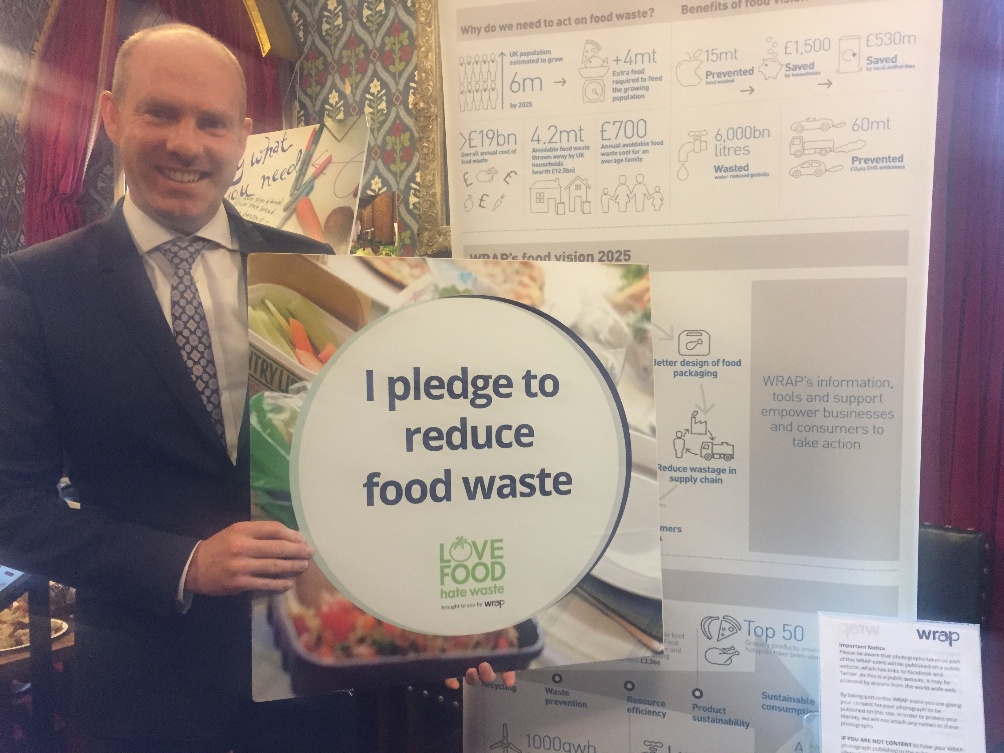 North Swindon MP Calls On Fellow Residents To Love Food Hate Waste