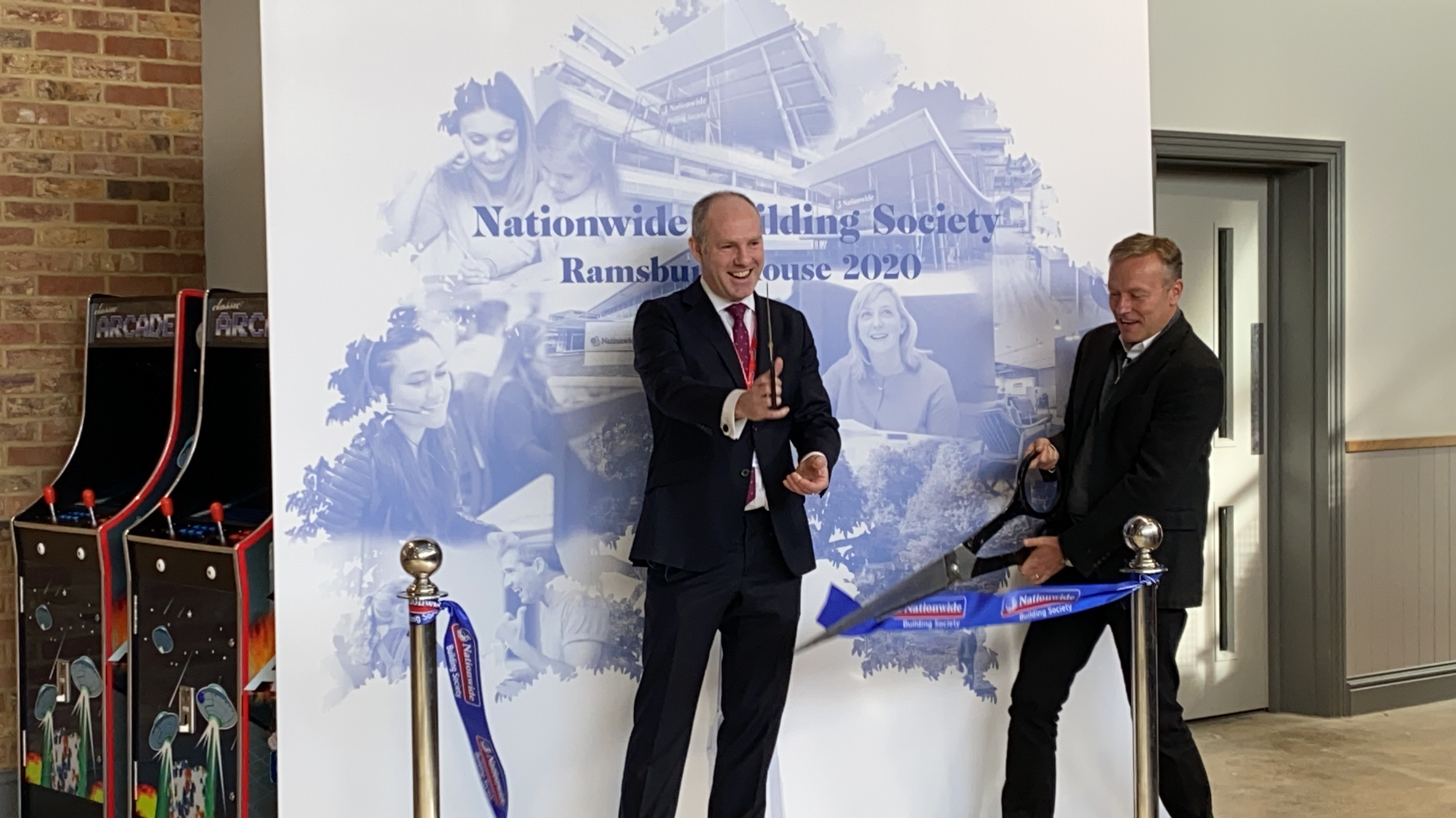 Justin Praises Nationwide's Innovative New Building
