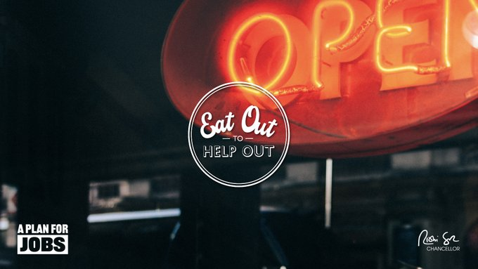Justin Welcomes Launch Of The Eat Out To Help Out Scheme