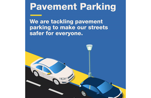 Government Launches Pavement Parking Consultation