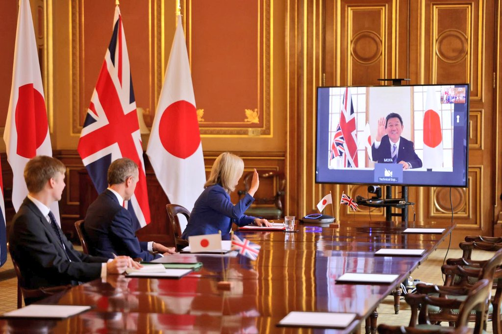 UK And Japan Agree Historic Trade Deal