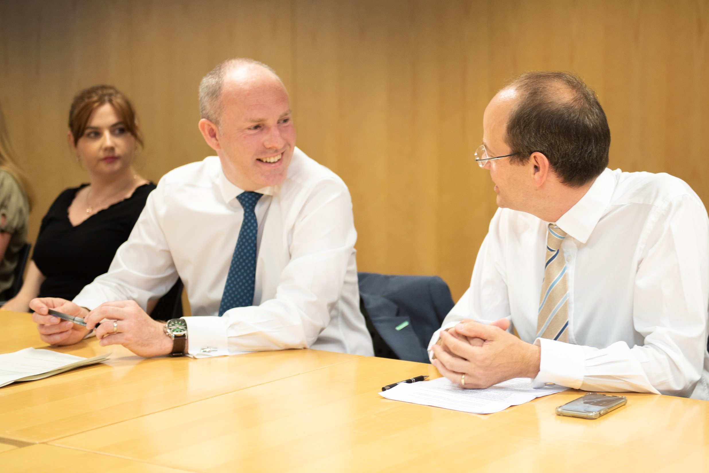 Justin Welcomes Praise For DWP COVID Response