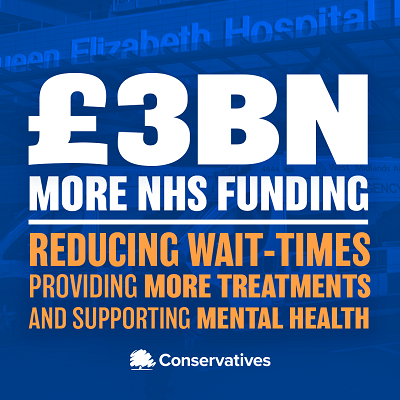 Justin Welcomes £3bn NHS Funding Boost