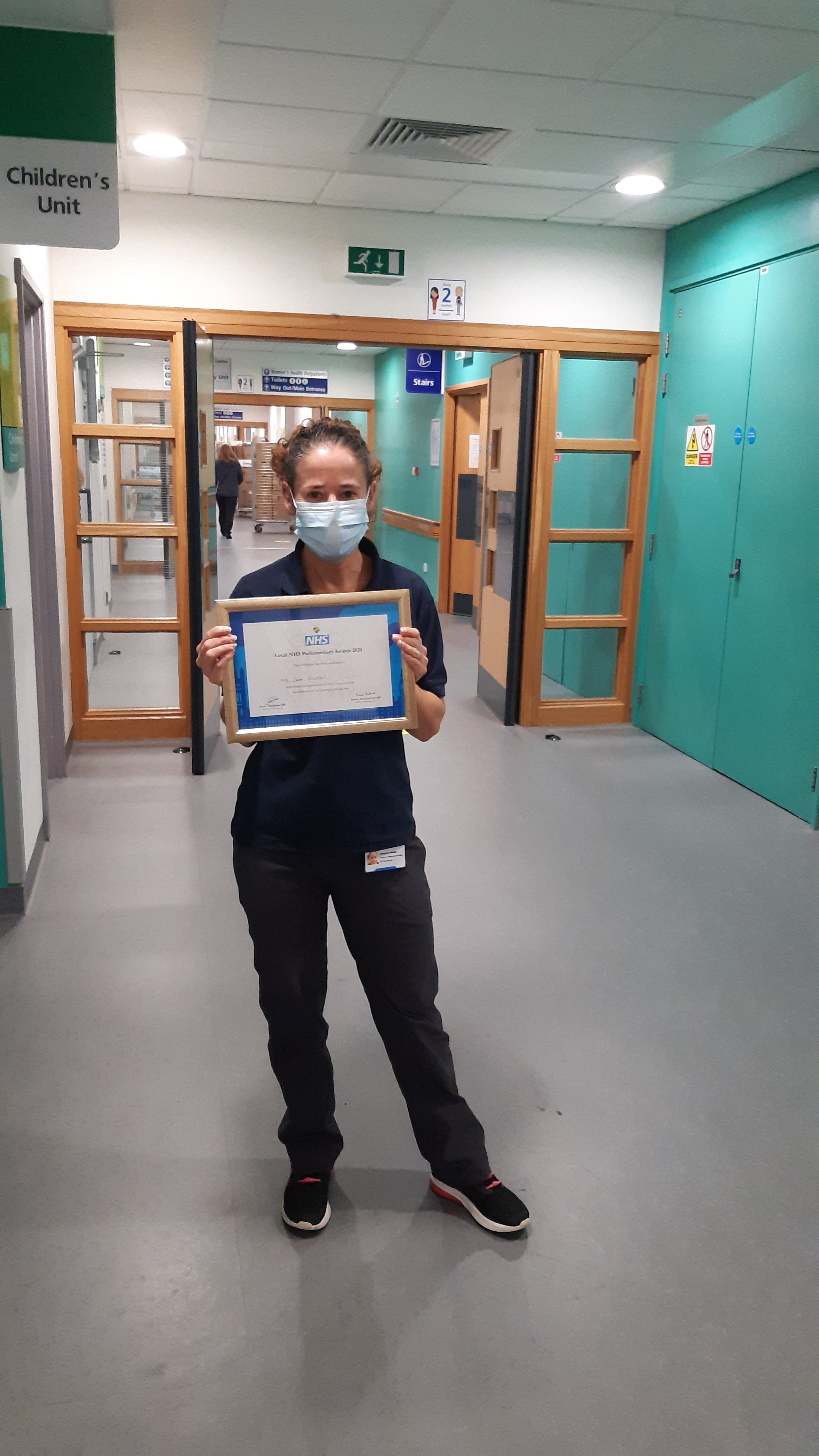 Health and Wellbeing Project Manager at Great Western Hospital wins regional Parliamentary Award