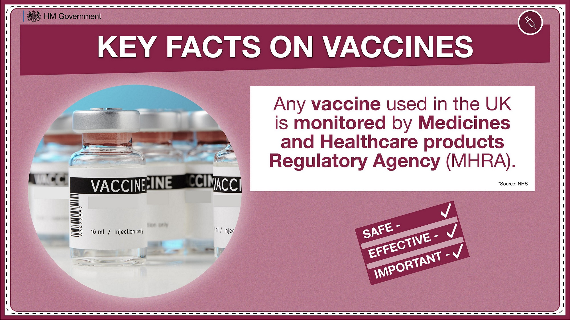 Government Publishes Plan For The Largest Vaccination Programme In British History