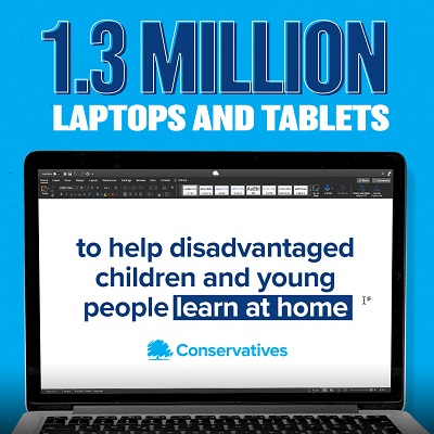 North Swindon MP Welcomes Boost To The School Laptop Programme