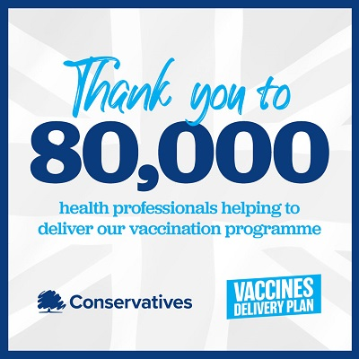 Justin Joins Ministers in Thanking NHS Staff For Achieving Highest Ever Flu Vaccination Rate