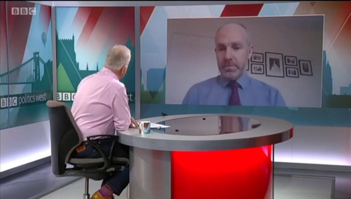 Justin Appears On BBC Politics West