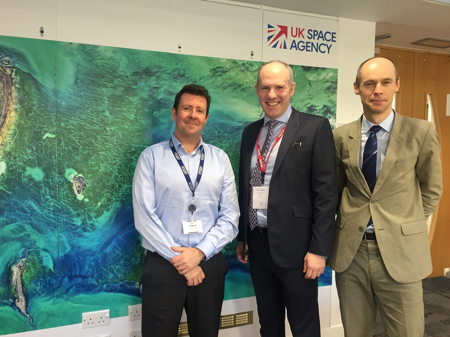 Revolutionary Piece Equipment Made Possible By Funding From Swindon Based UK Space Agency To Be Installed On To The International Space Station (ISS)
