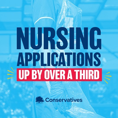 North Swindon MP Welcomes Important Boost To Nursing Applications In England