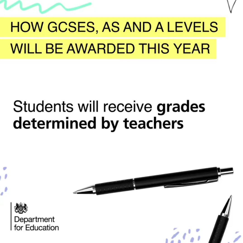Teacher Assessed Grades For Students
