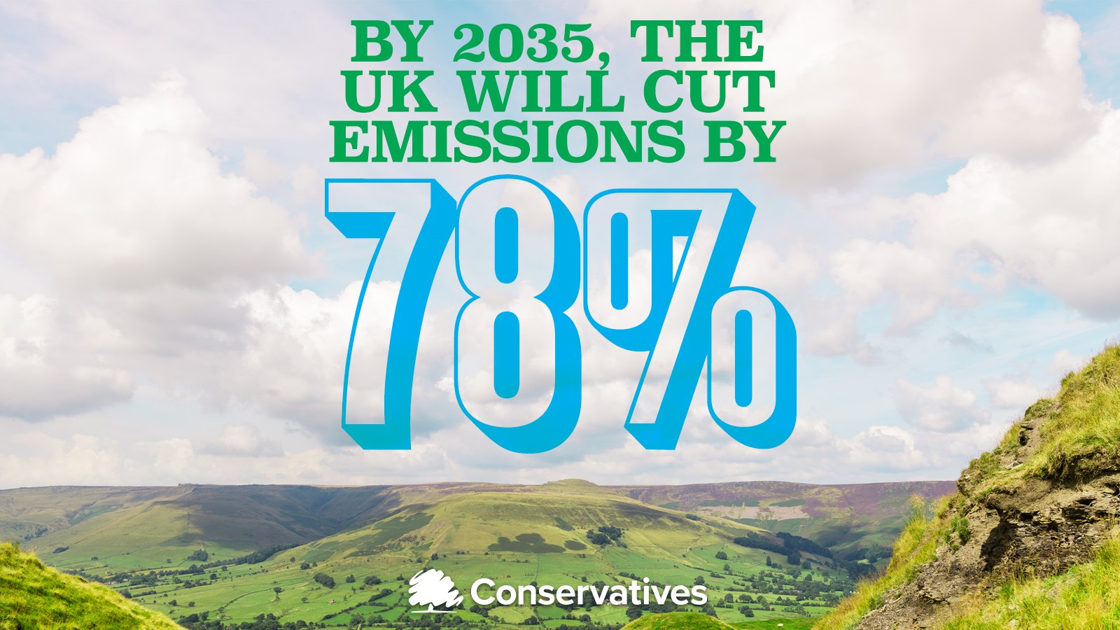 UK enshrines new target in law to slash emissions by 78% by 2035