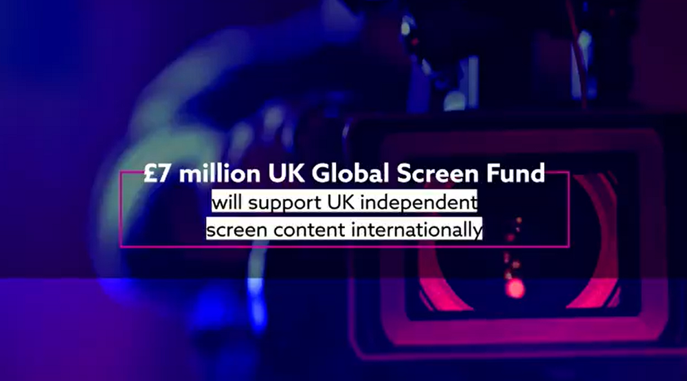 £7 million Global Screen Fund Launched