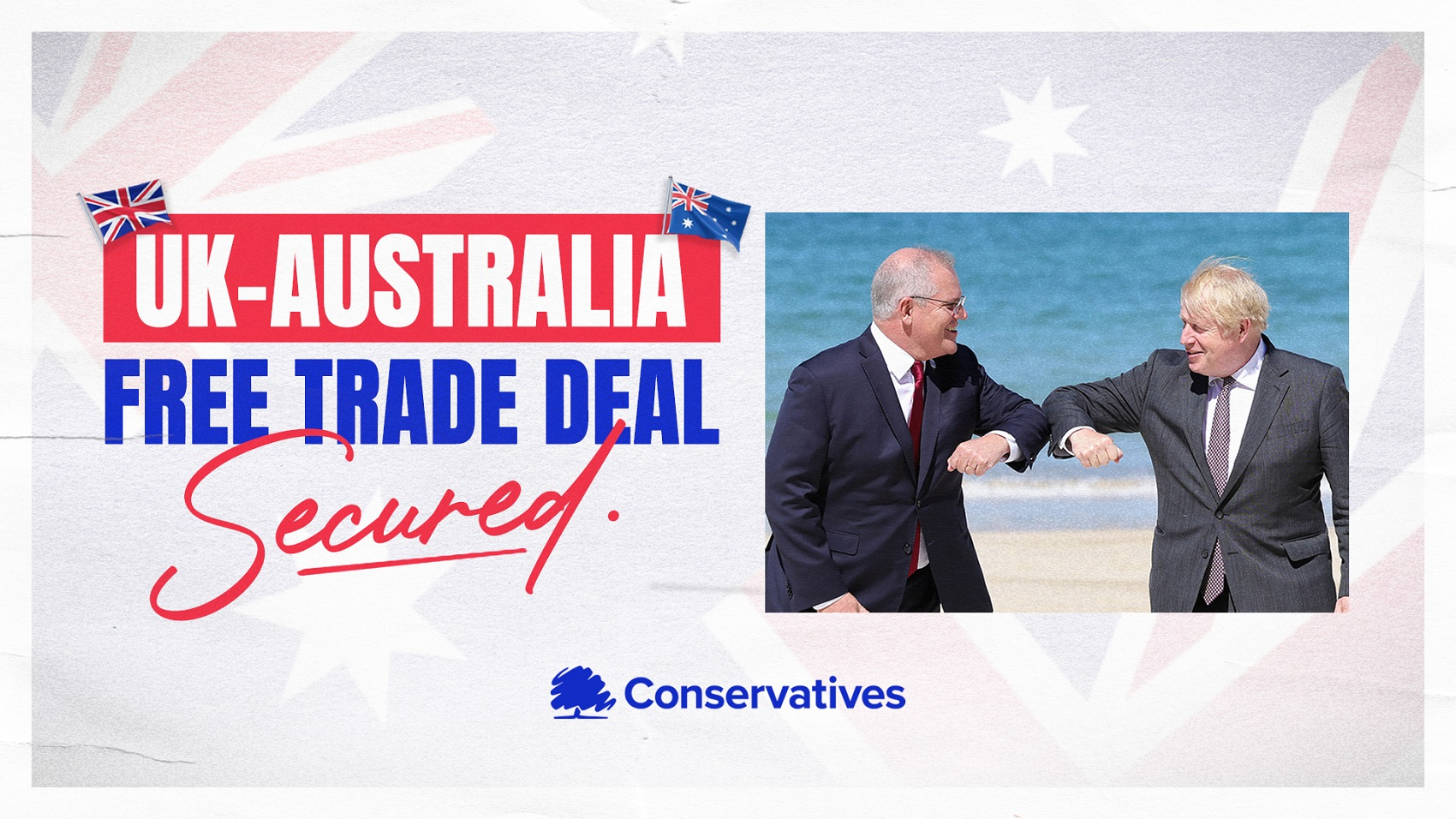 UK Agrees Historic Trade Deal With Australia
