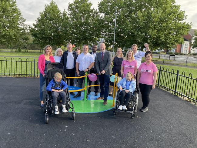 Justin Opens Latest Inclusive Playground Equipment