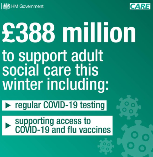 Additional Funding To Help Adult Social Care This Winter