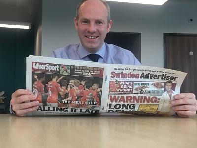 Swindon  Advertiser Column - Getting On With The Job